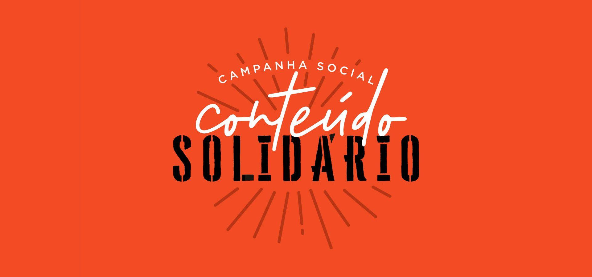 Matéria sobre Conteúdo Solidário